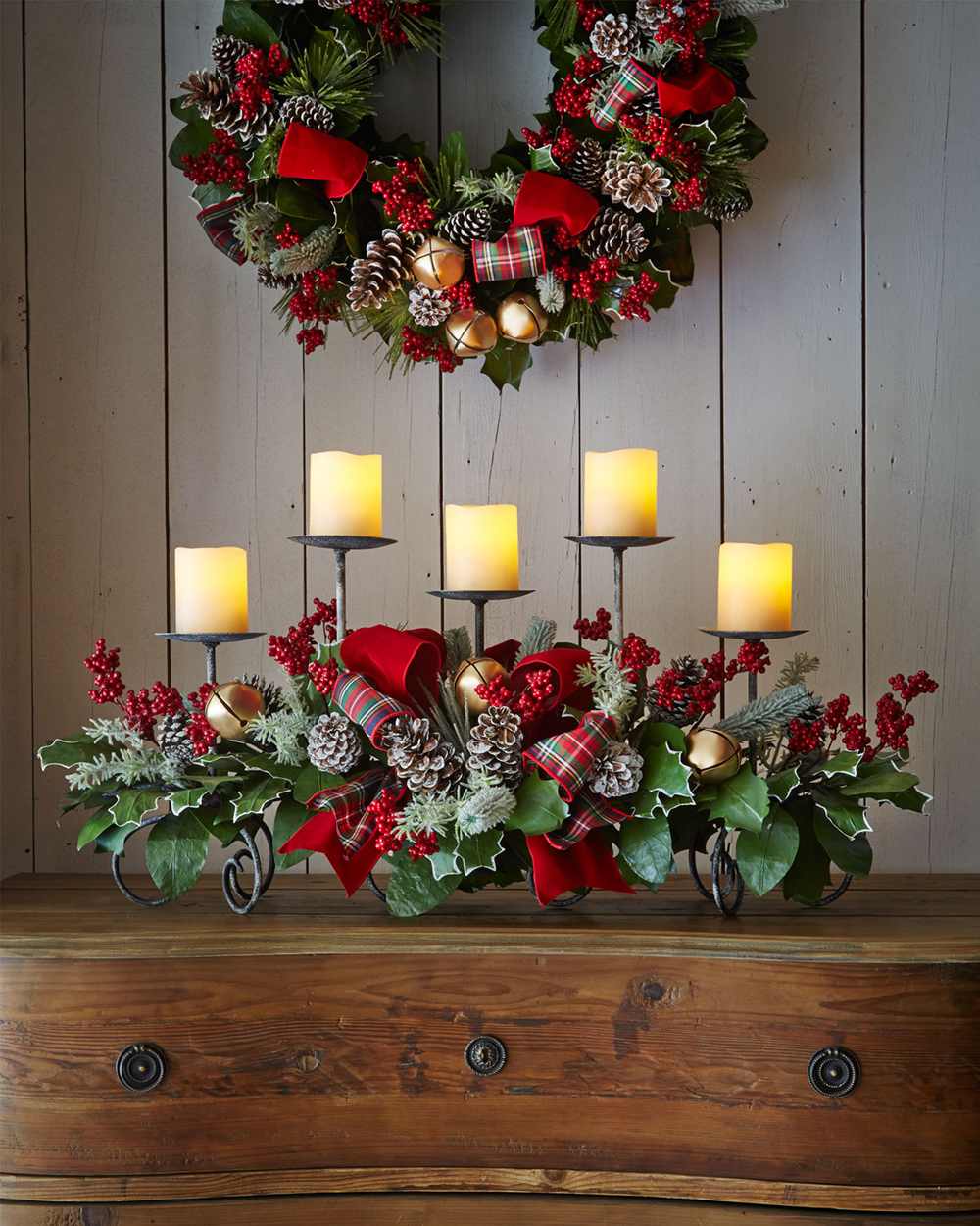 rustic christmas decorations - Christmas Flower Decorations