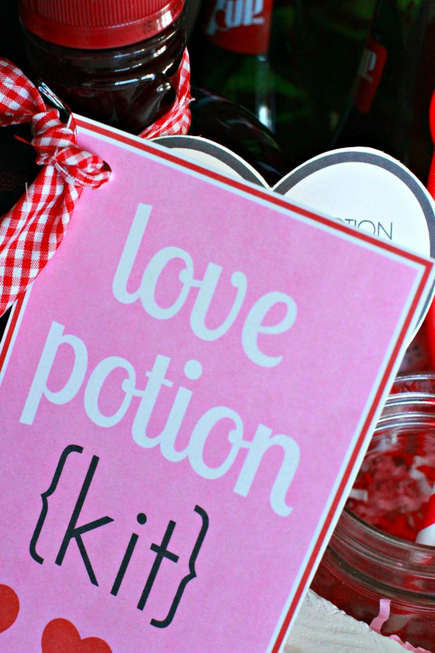 Valentine's Love Potion Kit