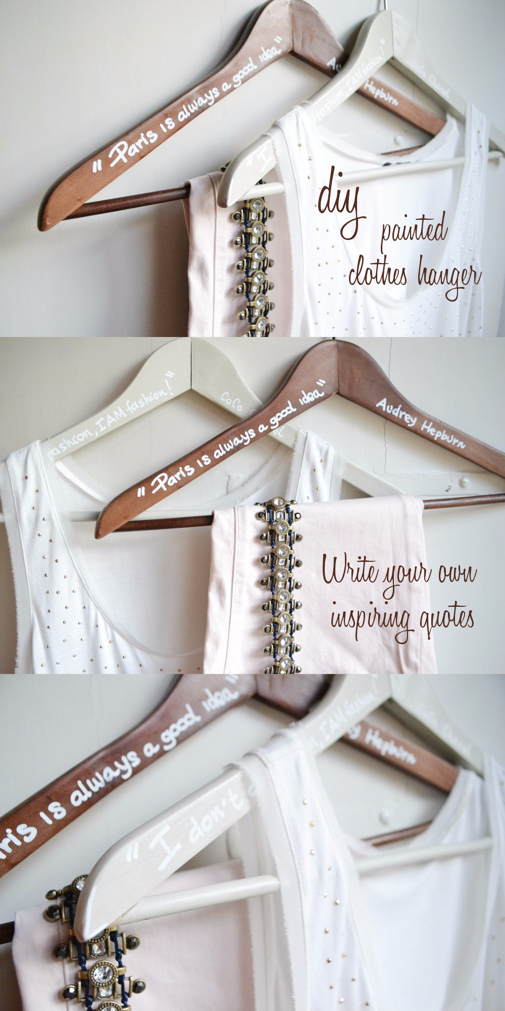 DIY Printed Clothes Hanger
