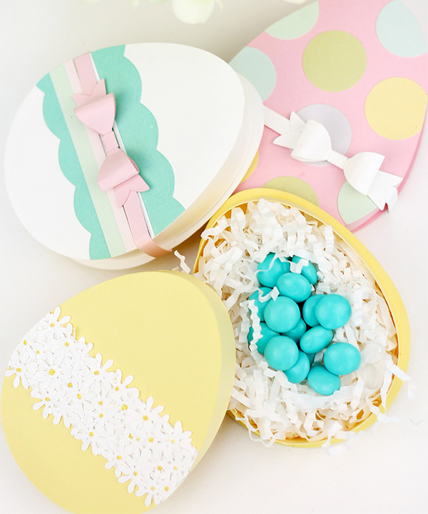 Easter Egg Candy Boxes