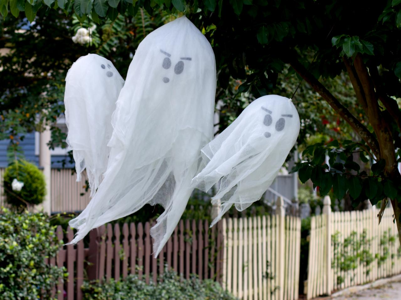 Halloween yard decorations diy - Halloween Decorations For Outside