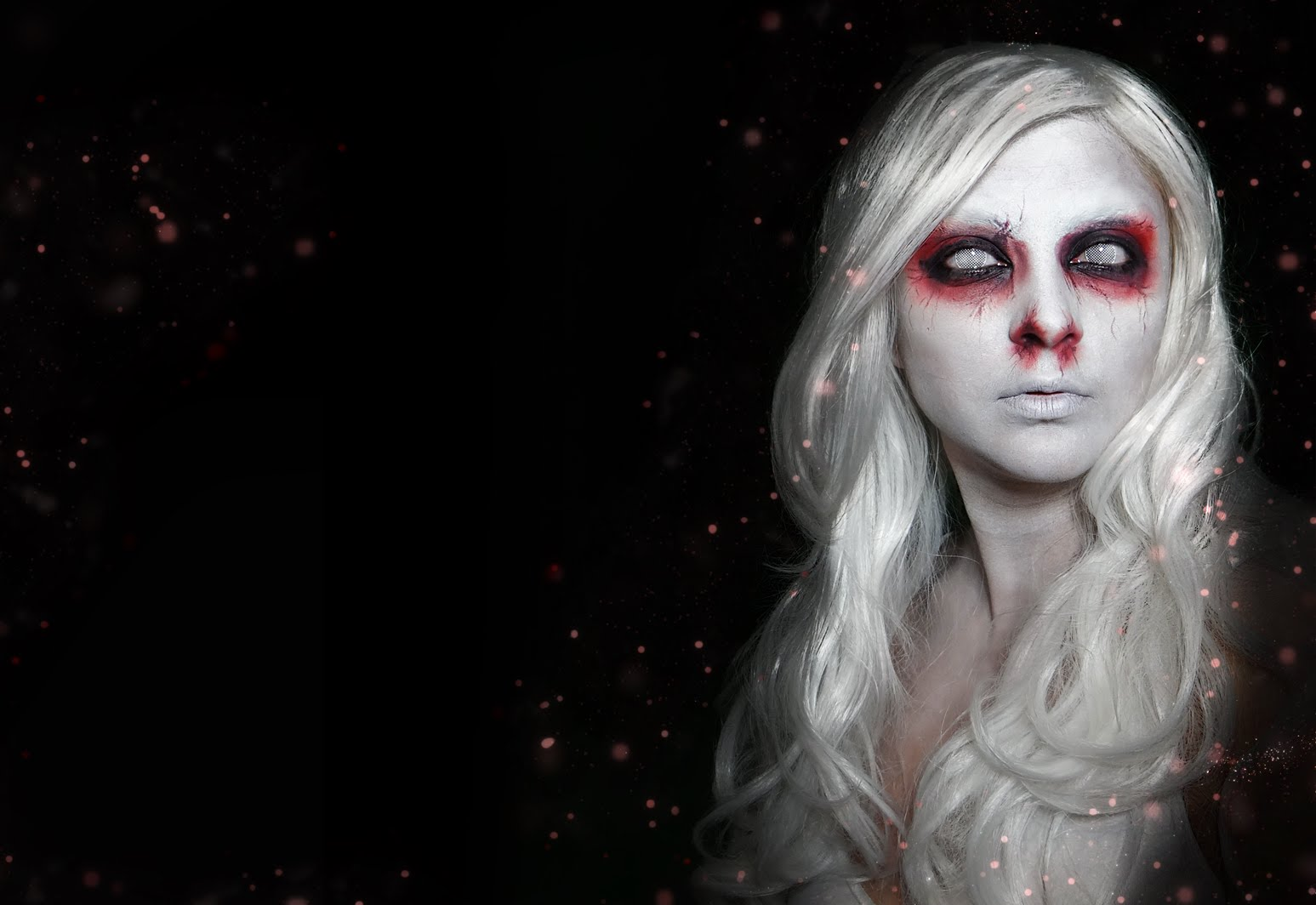 Ghost Woman Halloween Makeup | Vizitmir.com