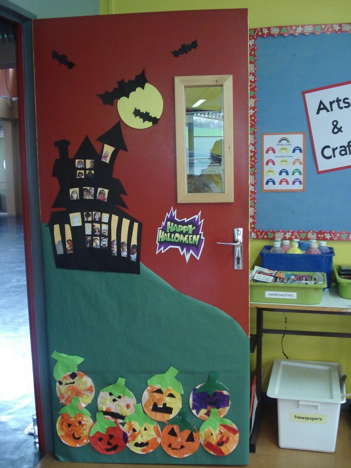 Classroom Halloween Decorations