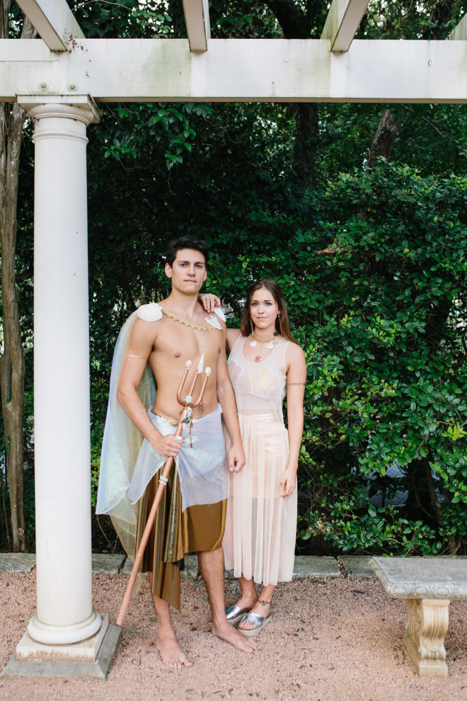 Mermaid Merman Halloween Couples Costume