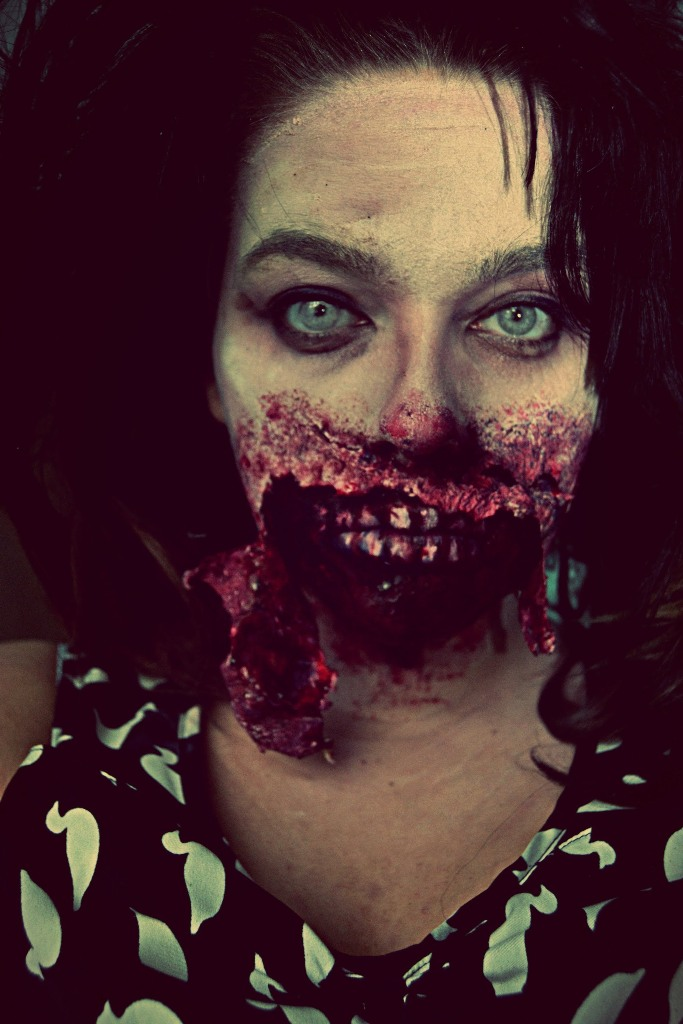 Gory Zombie Makeup