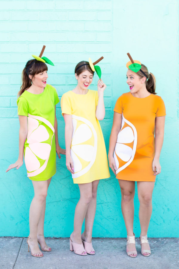 Citrus Slice Halloween Costumes