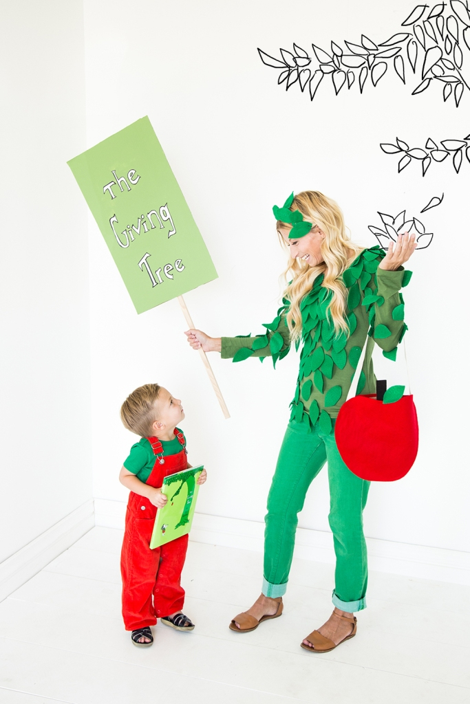Giving Tree Parent and Child Halloween Costumes