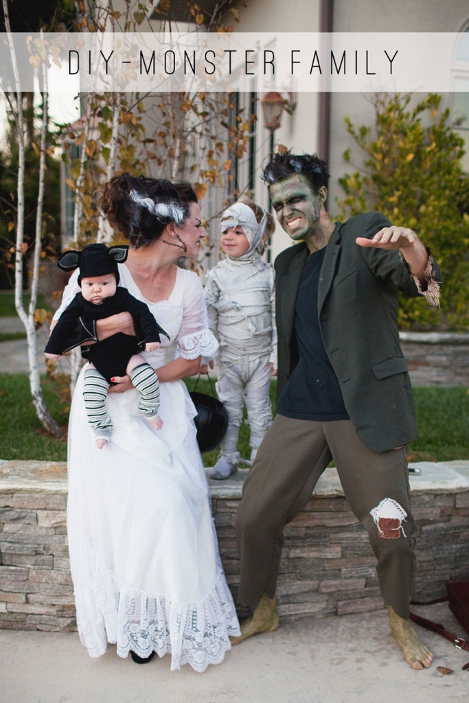Monster Family Halloween Costume