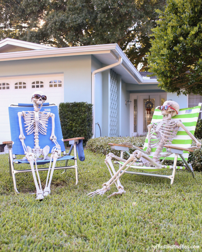 Skeleton Lawn Decorations