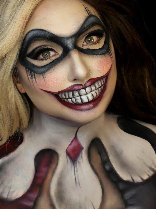 DC Comics Halloween Makeup