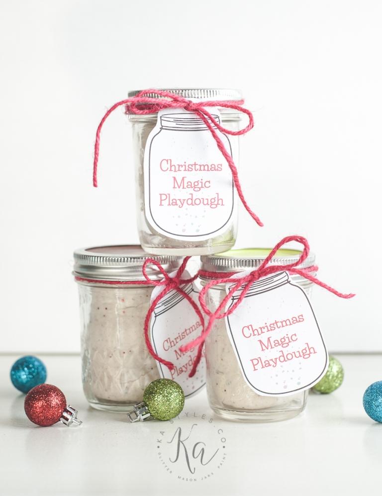 Christmas Magic Playdough