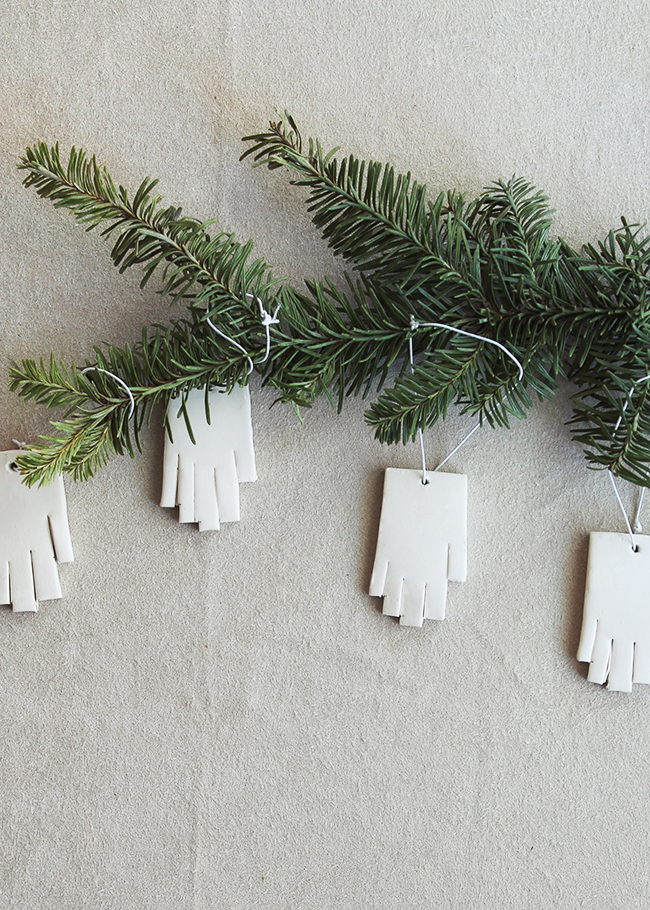 Mini Hand Ornaments