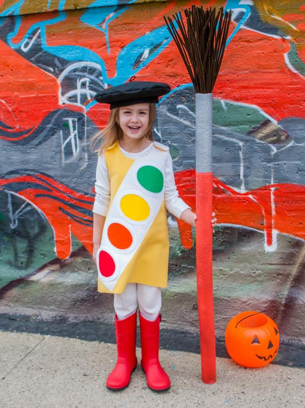 Watercolor Paint Box Costume