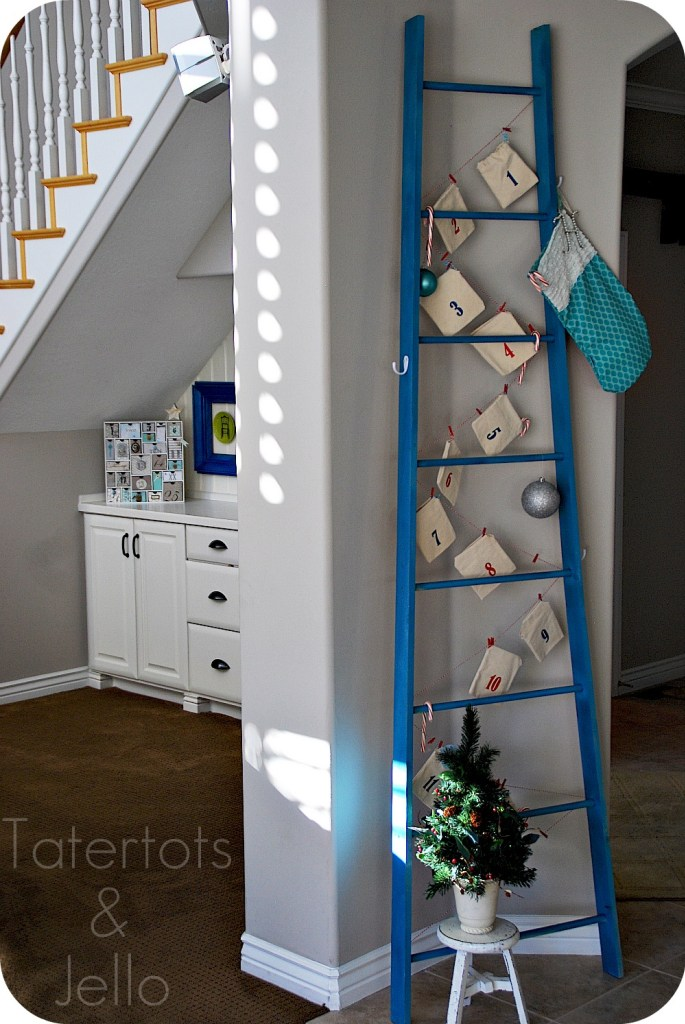 Ladder Decoration for Apartment