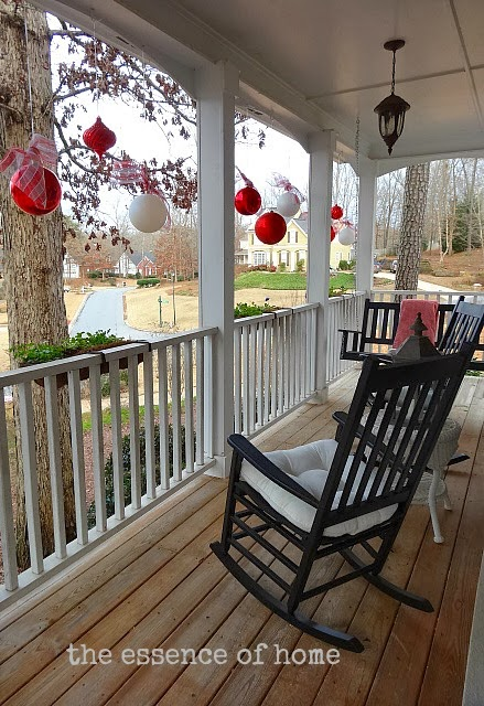 Porch Christmas Decorations Diy Front Porch Decorating Ideas