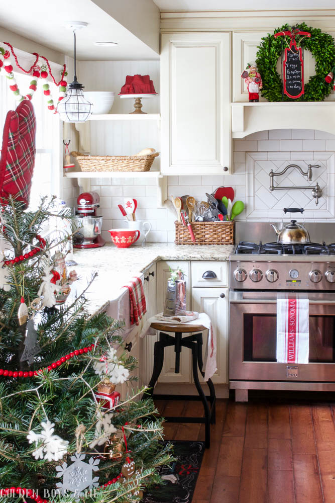 Kitchen Christmas Decorations - DIY Kitchen Christmas ...