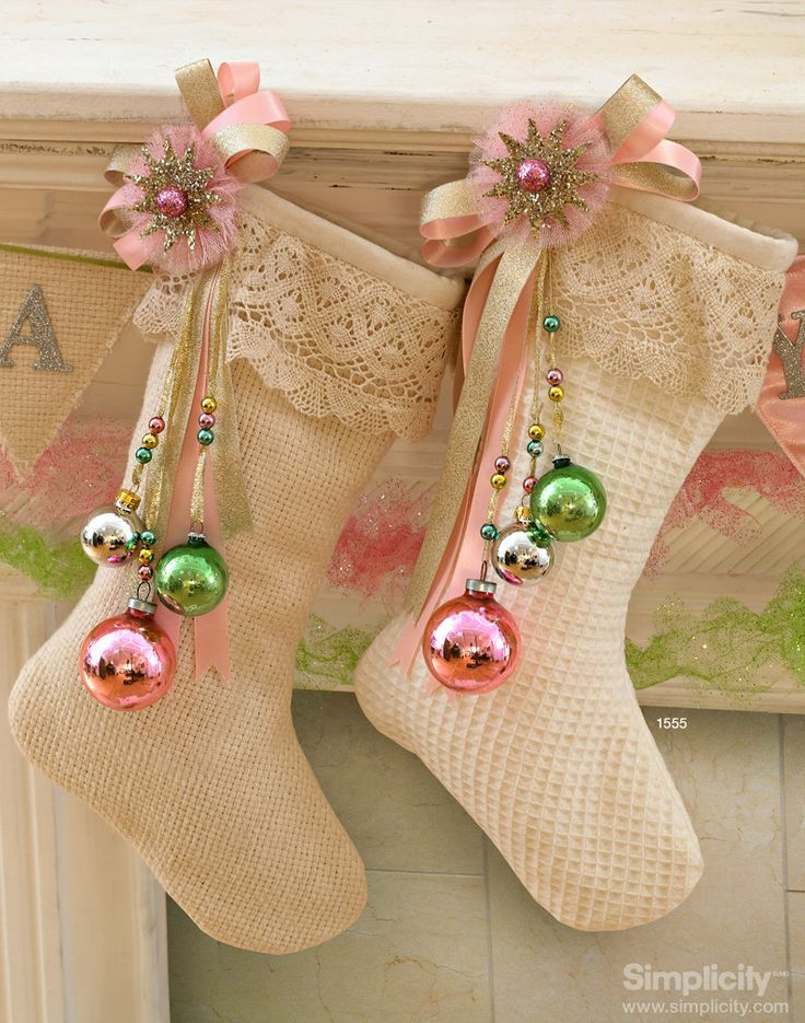 Best Christmas Stockings Decorations Ideas With tutorials RE21