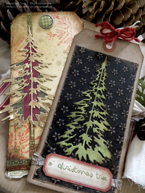 Mirror Paper Tree Cards