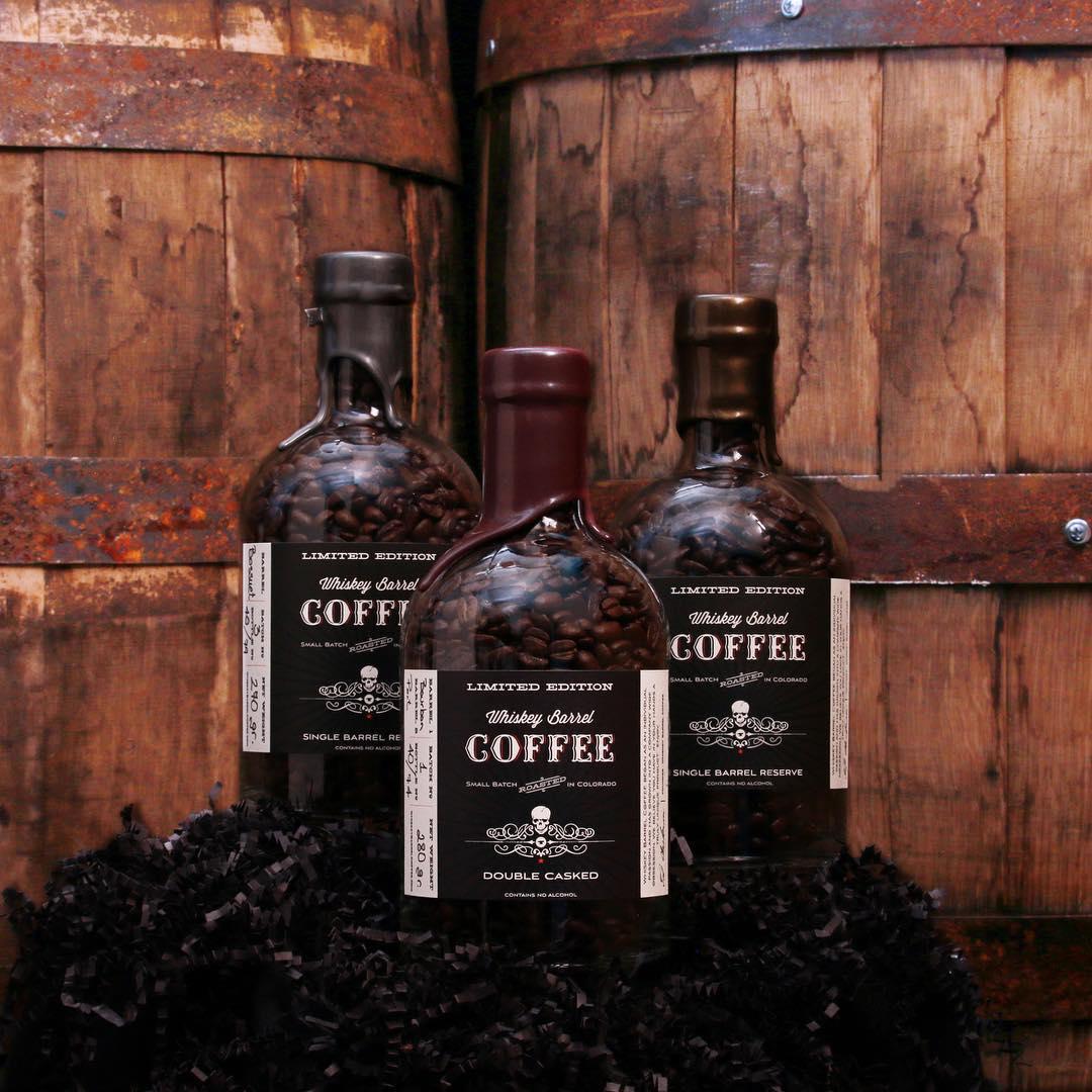 Dark Roast Whiskey Barrel Coffee