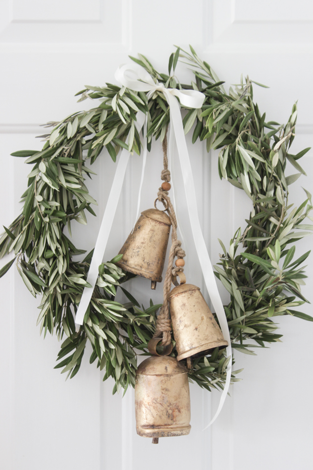 Branch Wreath With Bells