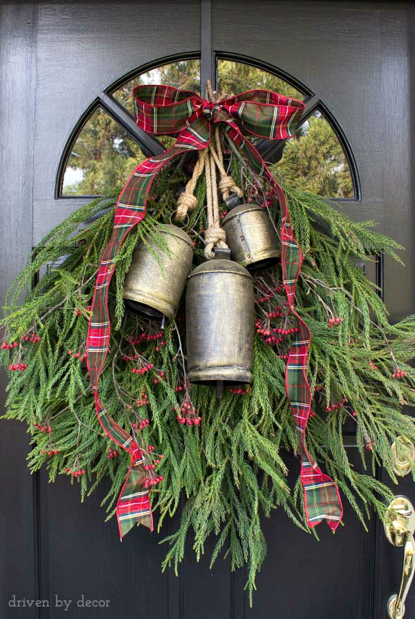 Front Door Decoration With Bells