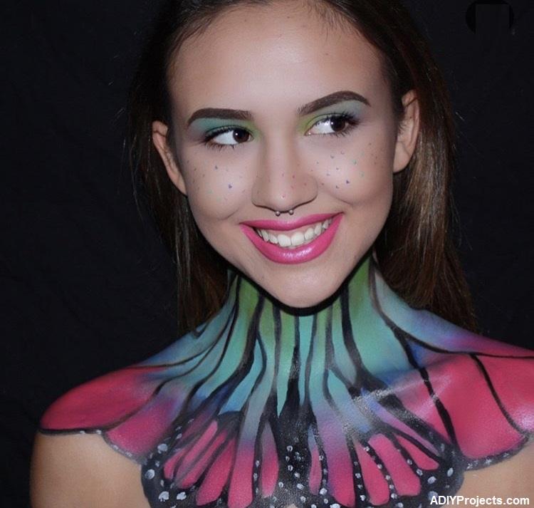 Butterfly Halloween Makeup