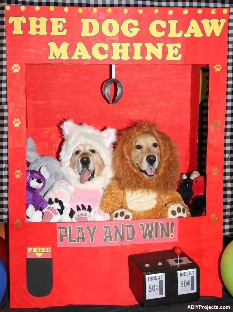 Dog Claw Machine Halloween Costume