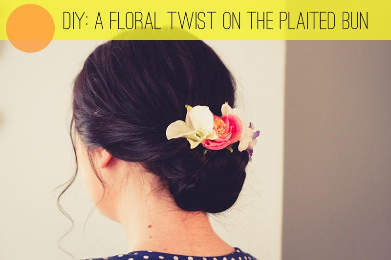 Floral Twist Bun