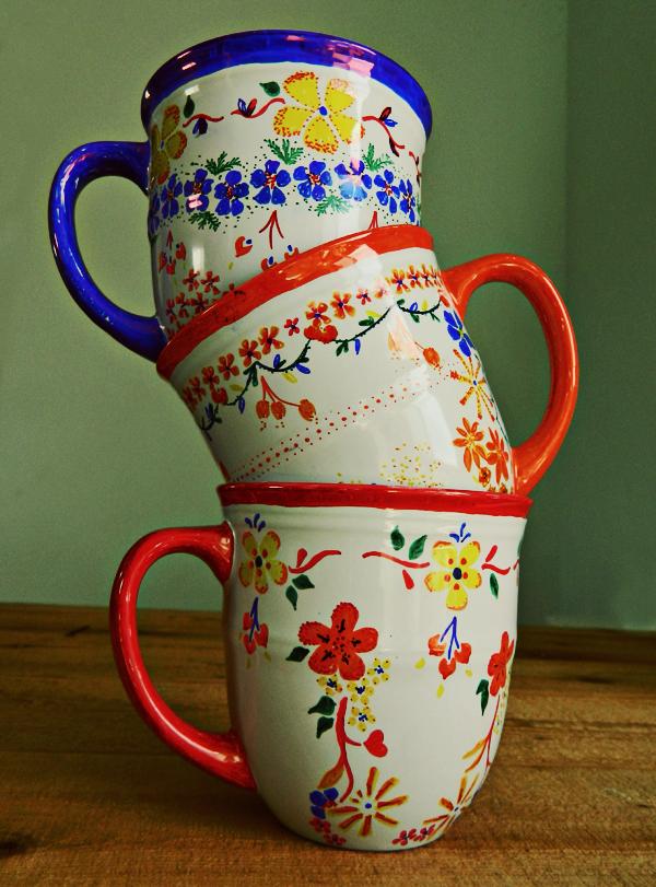 Anthropologie Coffee Mugs
