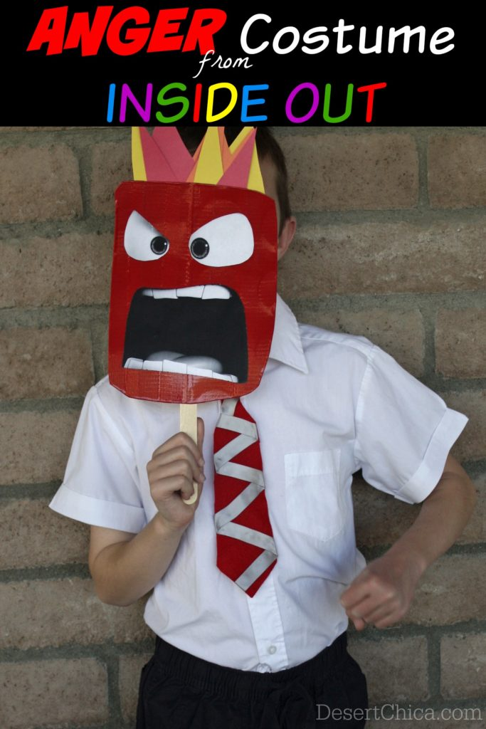Anger From Inside Out Halloween Costume
