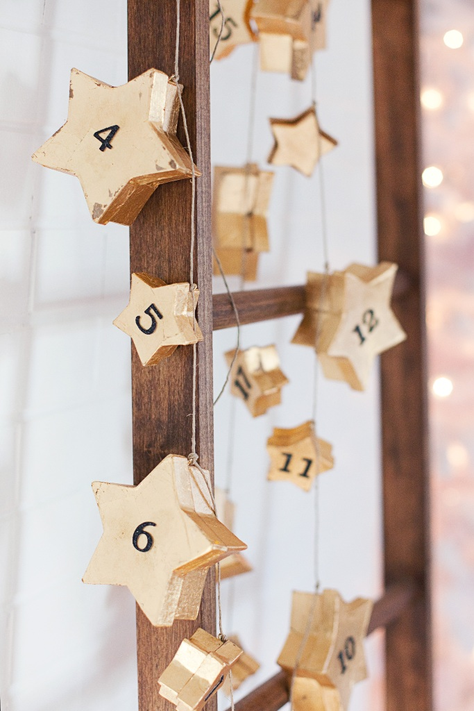Star Garland Advent Calendar