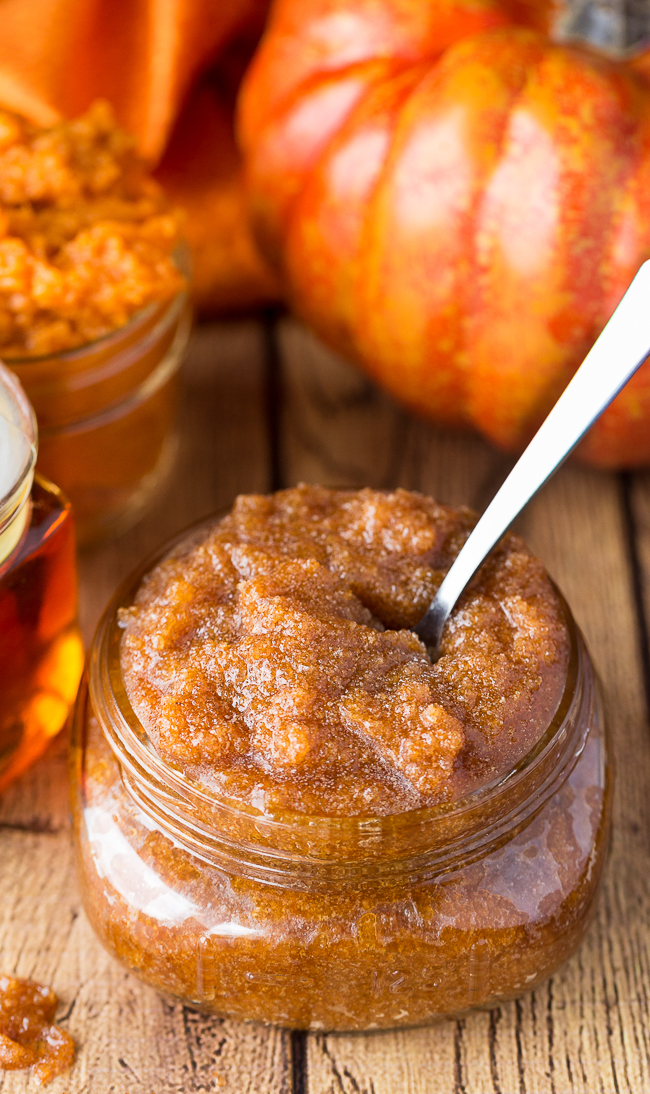 Maple Pumpkin Sugar Scrub