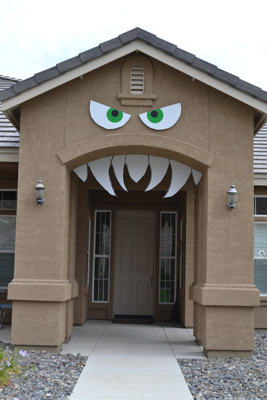 Monster House Halloween Decorations