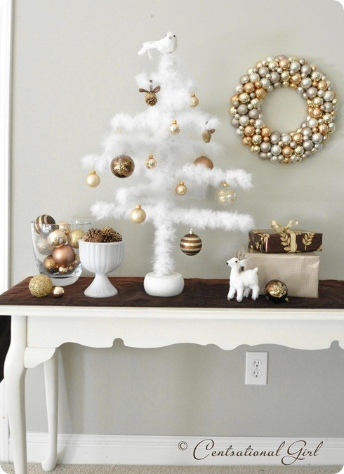 Feather Ornament Tree