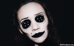 Scary Doll Halloween Makeup Tutorial